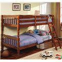 Coaster Corinth Twin Bunk Bed - Item Number: 5040CH
