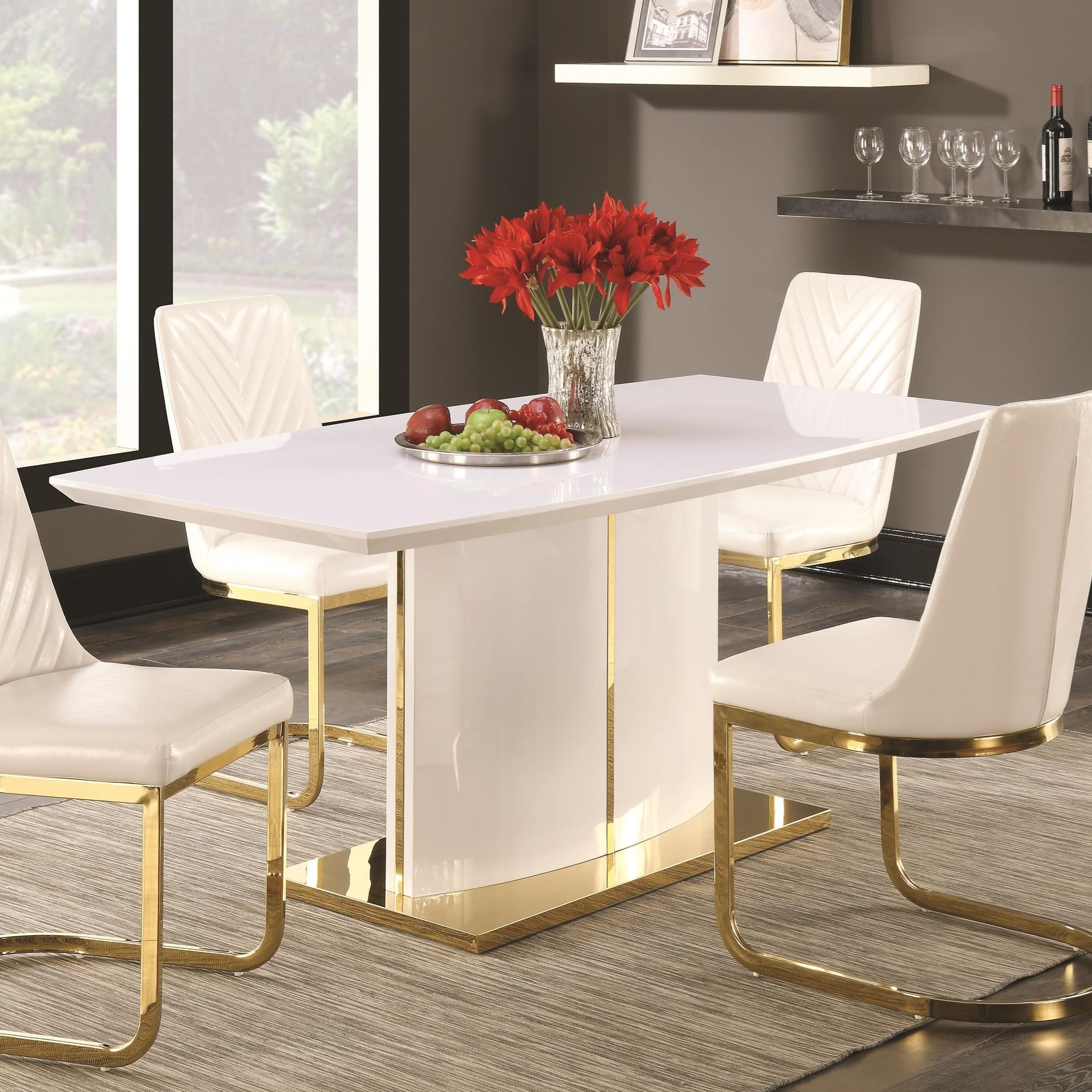 Coaster Cornelia Boat Shape Dining Table - Item Number: 106711