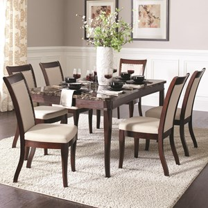 Coaster Cornett 7 Piece Dining Set