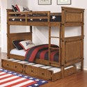 Coaster Coronado Bunk Bed Twin over Twin Bunk Bed - Item Number: 460116