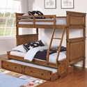 Coaster Coronado Bunk Bed Twin over Full Bunk Bed - Item Number: 460117
