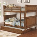 Coaster Coronado Bunk Bed Full over Full Bunk Bed - Item Number: 460118