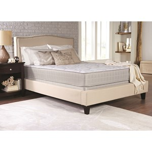 "Coaster Crystal Cove II Plush Queen 10 1/2"" Plush Mattress Set, LP"
