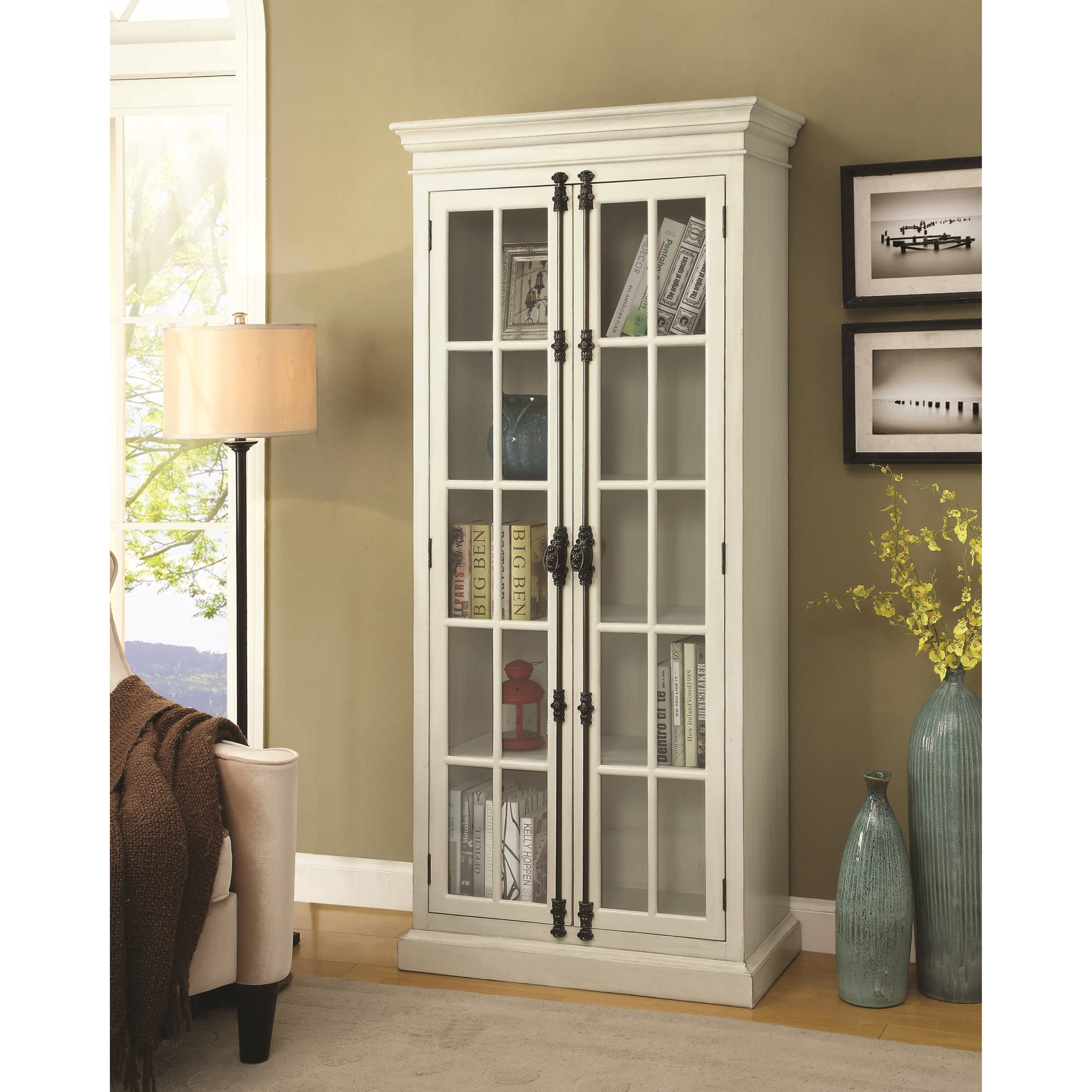 Coaster Curio Cabinets White Curio Cabinet Value City