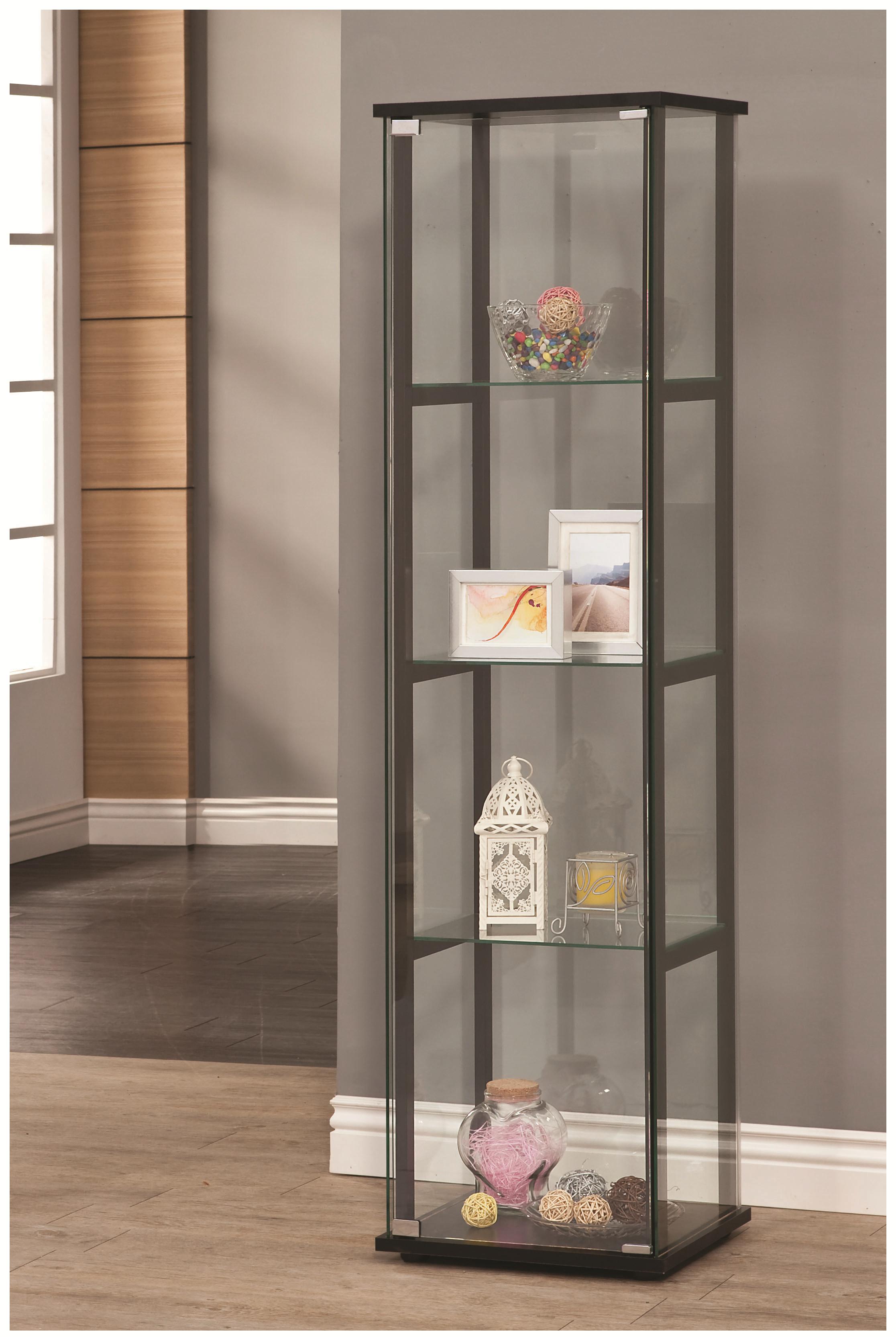 Coaster Curio Cabinets Curio Cabinet - Item Number: 950171