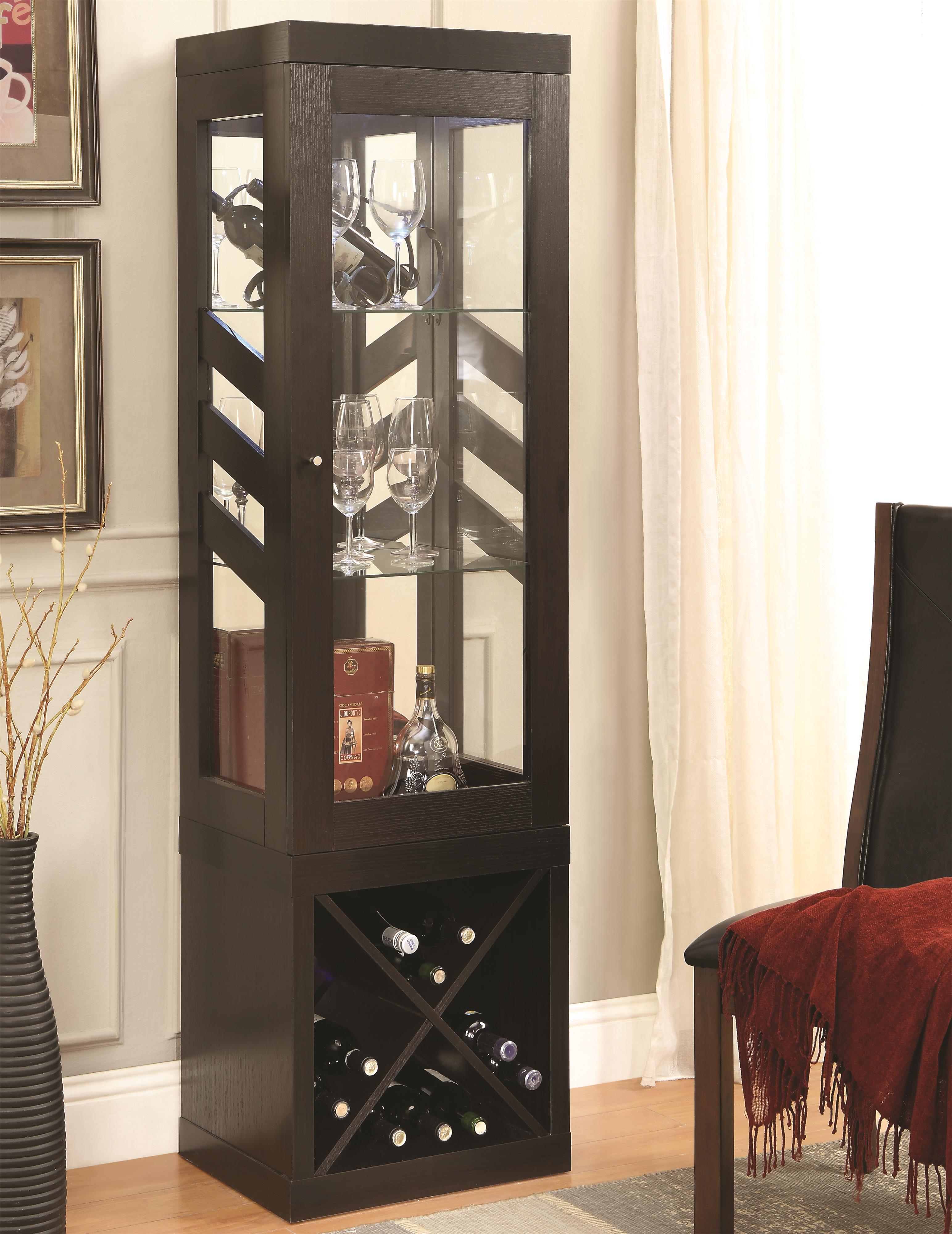 Coaster Curio Cabinets Curio Cabinet - Item Number: 950542