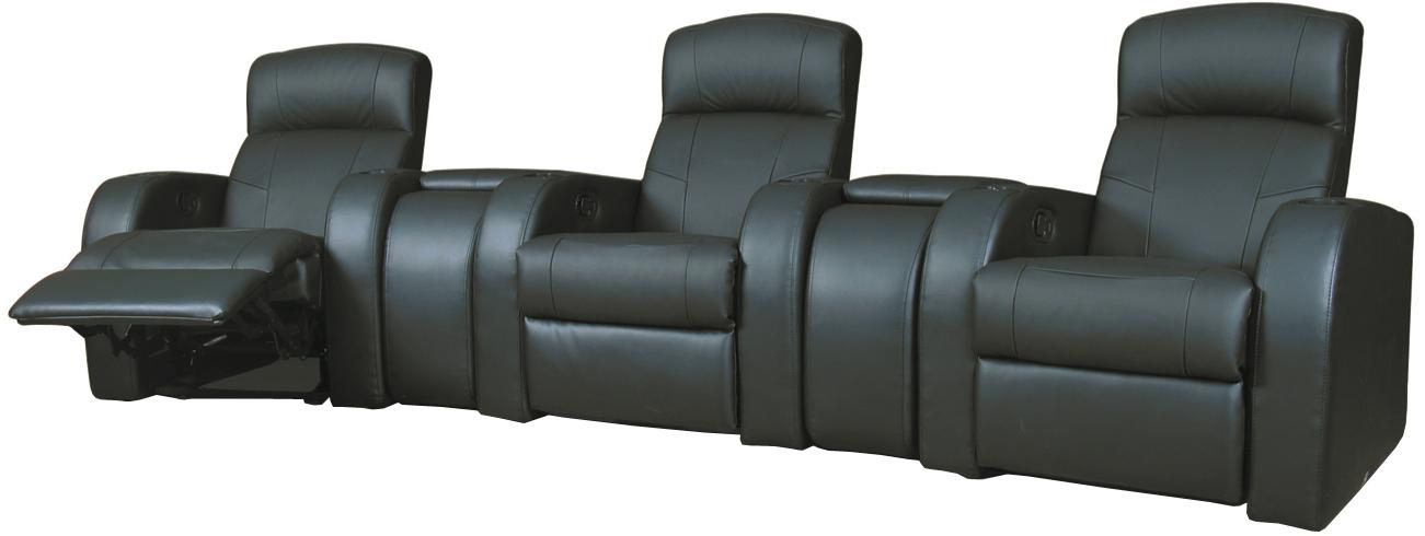 Coaster Cyrus Theater Seating - Item Number: 600001+2+1+2+1