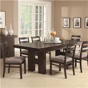 Coaster Dabny 7 Piece Dining Set