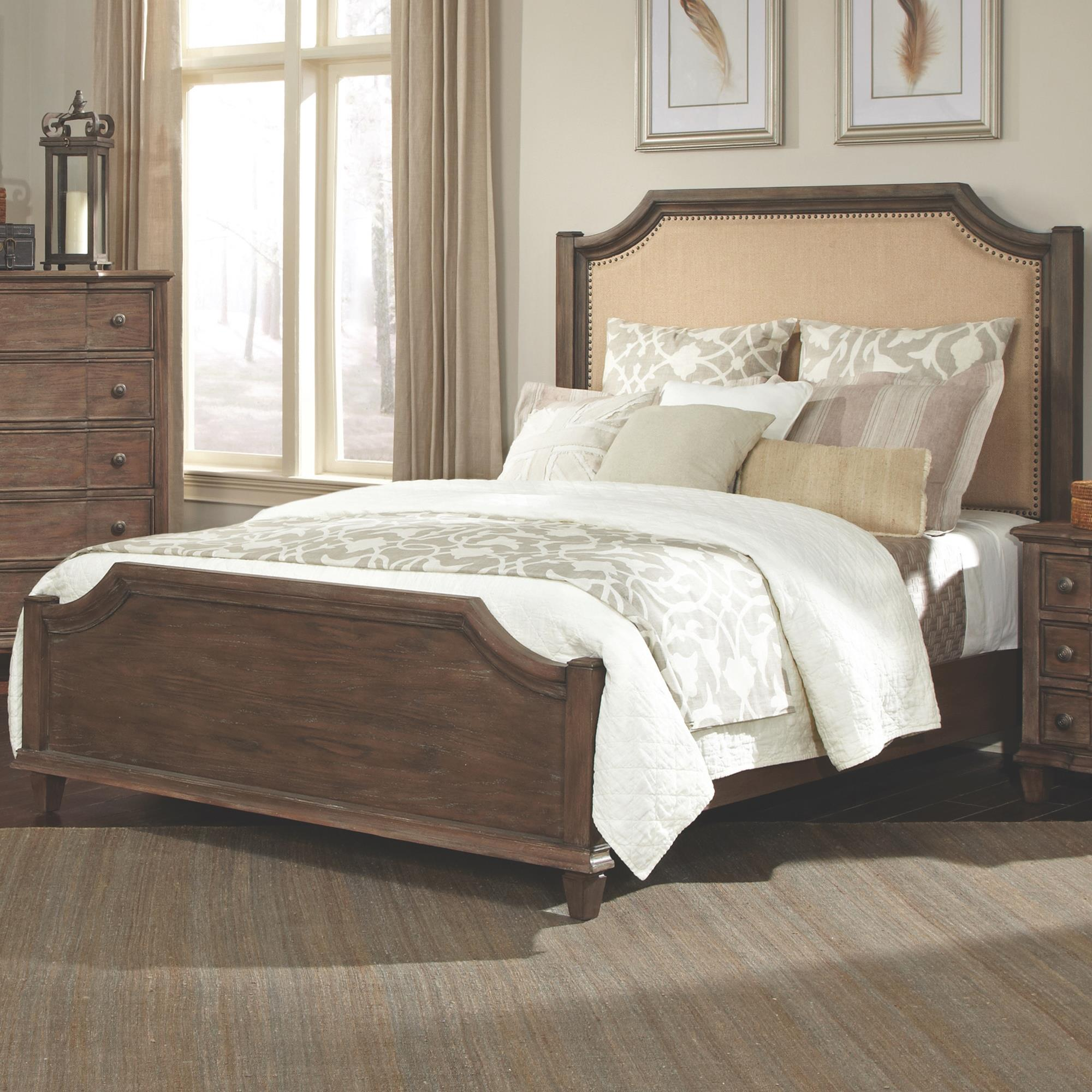 Coaster Dalgarno King Bed with Upholstered Headboard - Item Number: 204241KE