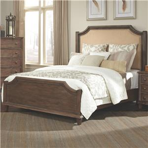 Coaster Dalgarno King Bed with Upholstered Headboard