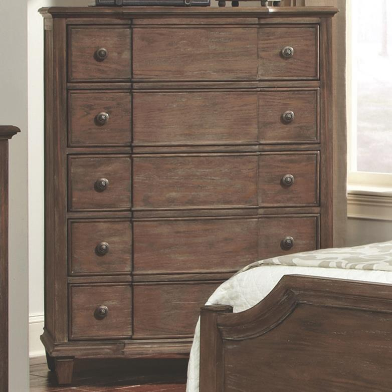 Coaster Dalgarno Chest of Drawers with 5 Drawers - Item Number: 204245