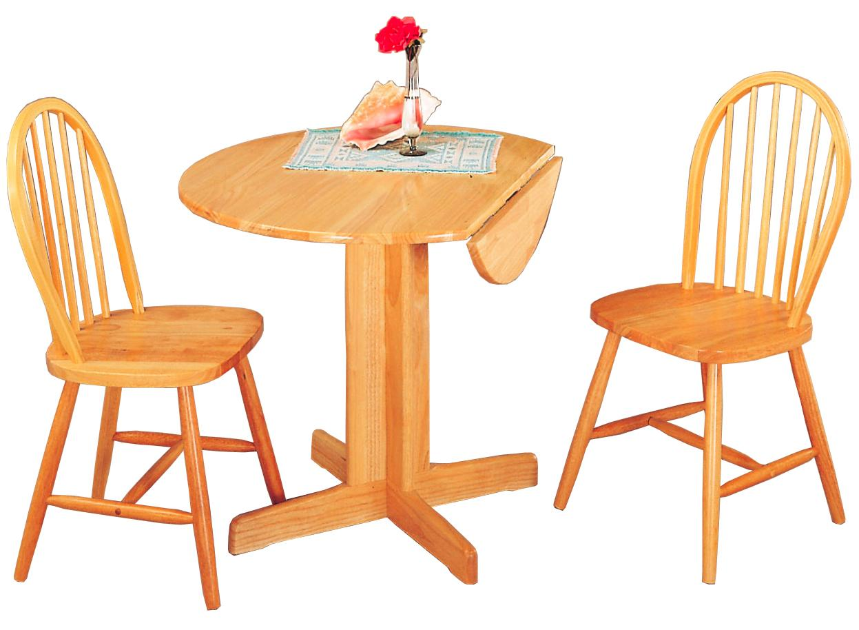Attirant Coaster Damen 3 Piece Dining Set   Item Number: 4137+2X27