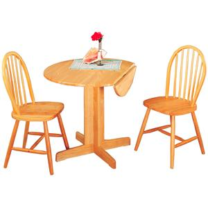 Coaster Damen 3 Piece Dining Set