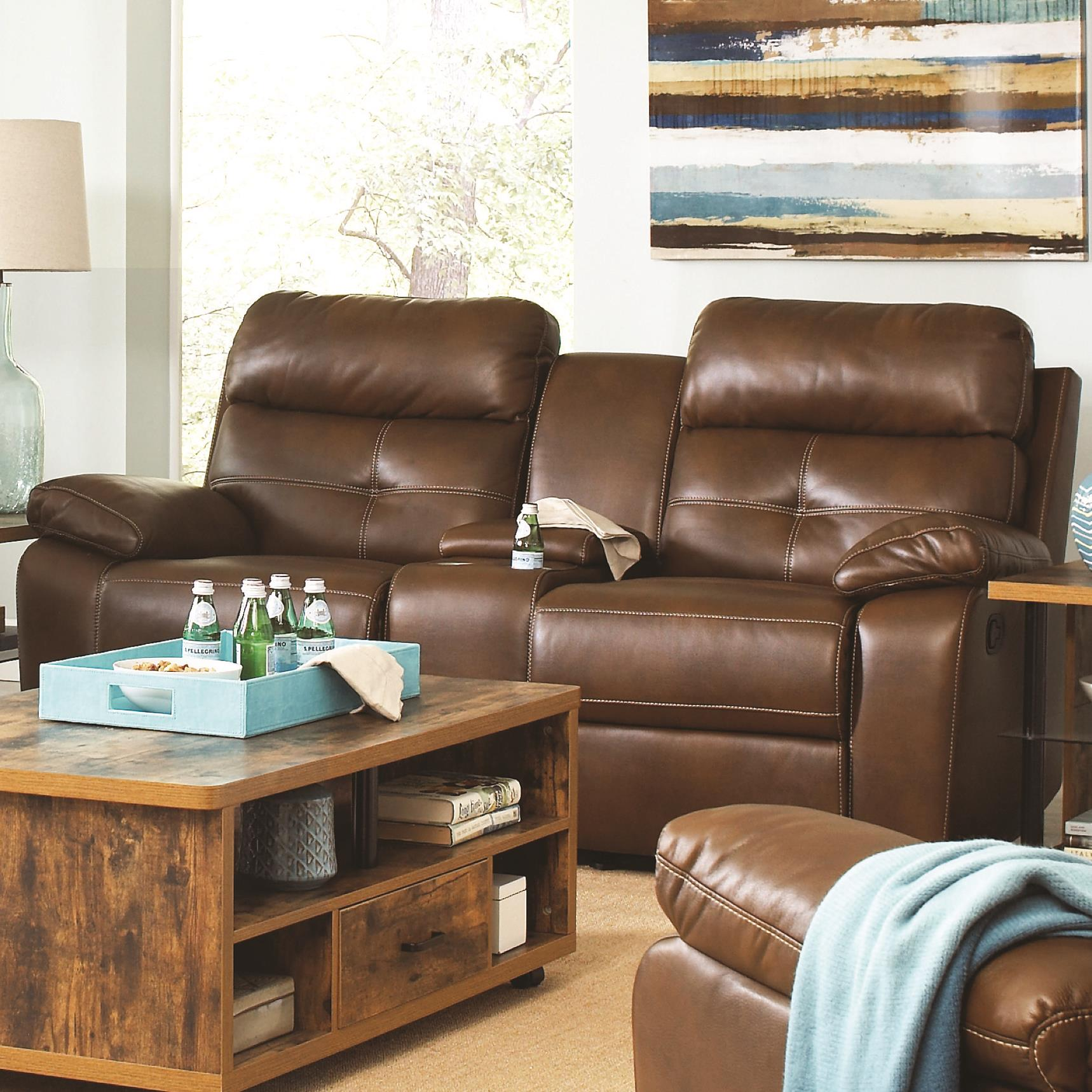 Coaster Damiano Reclining Loveseat - Item Number: 601692