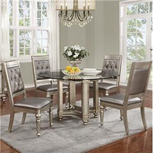 Coaster Danette 5 Piece Table & Chair Set