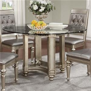 Coaster Danette Glass Dining Table