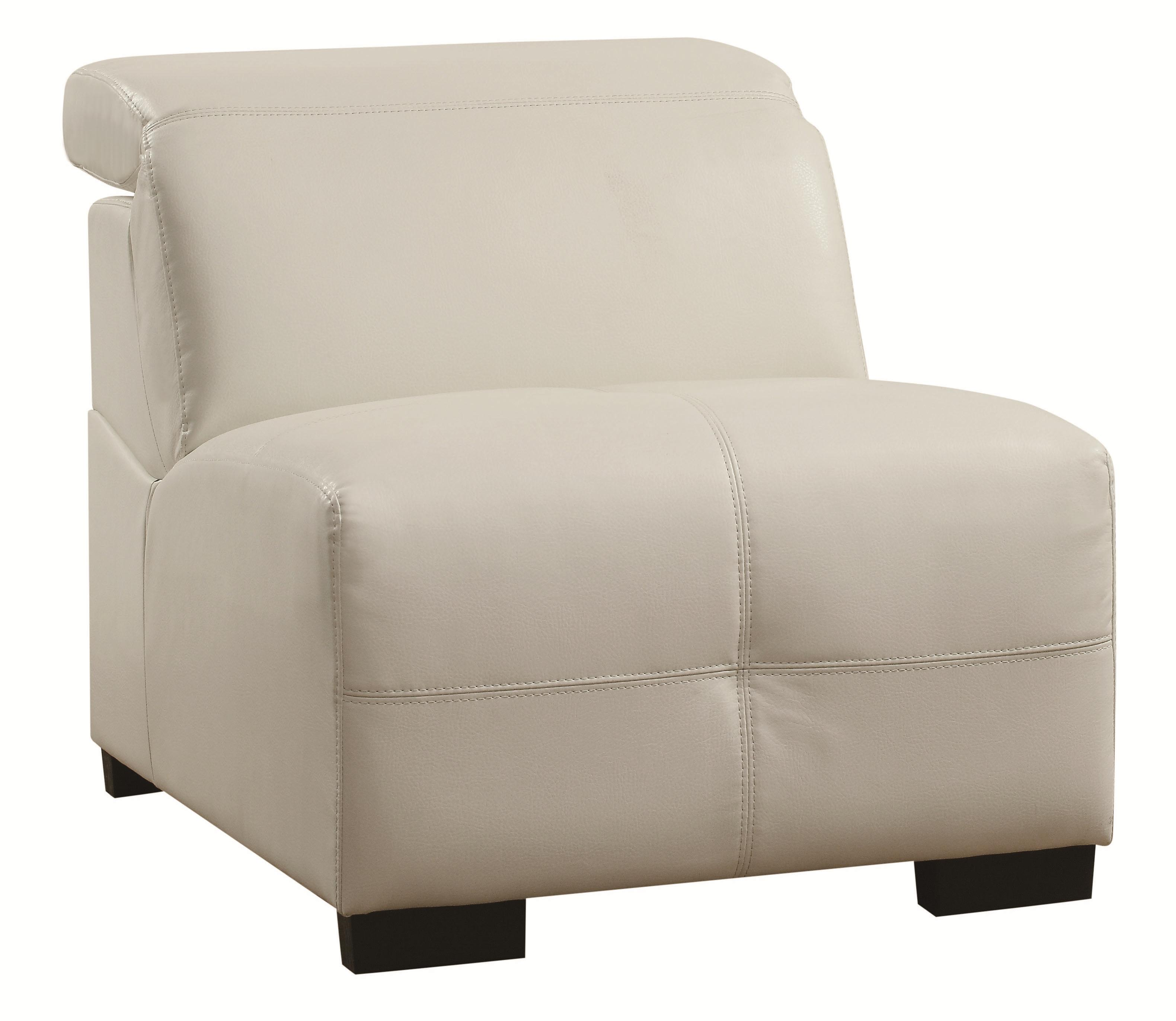 Coaster Darby Armless Chair - Item Number: 503617AC