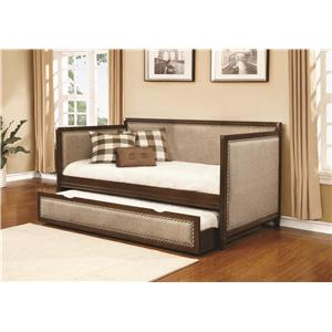 Coaster Daybeds by Coaster Daybed with Underbed Unit