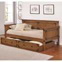 Coaster Daybeds by Coaster Daybed with Trundle - Item Number: 300675+300676