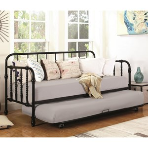 Coaster Daybeds by Coaster Daybed with Trundle