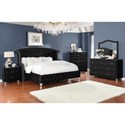 Coaster Deanna King Bedroom Group - Item Number: 20610 K Bedroom Group