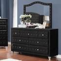 Coaster Deanna Dresser and Mirror Set - Item Number: 206103+206104