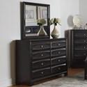 Coaster Decker Dresser and Mirror - Item Number: 206283+206284