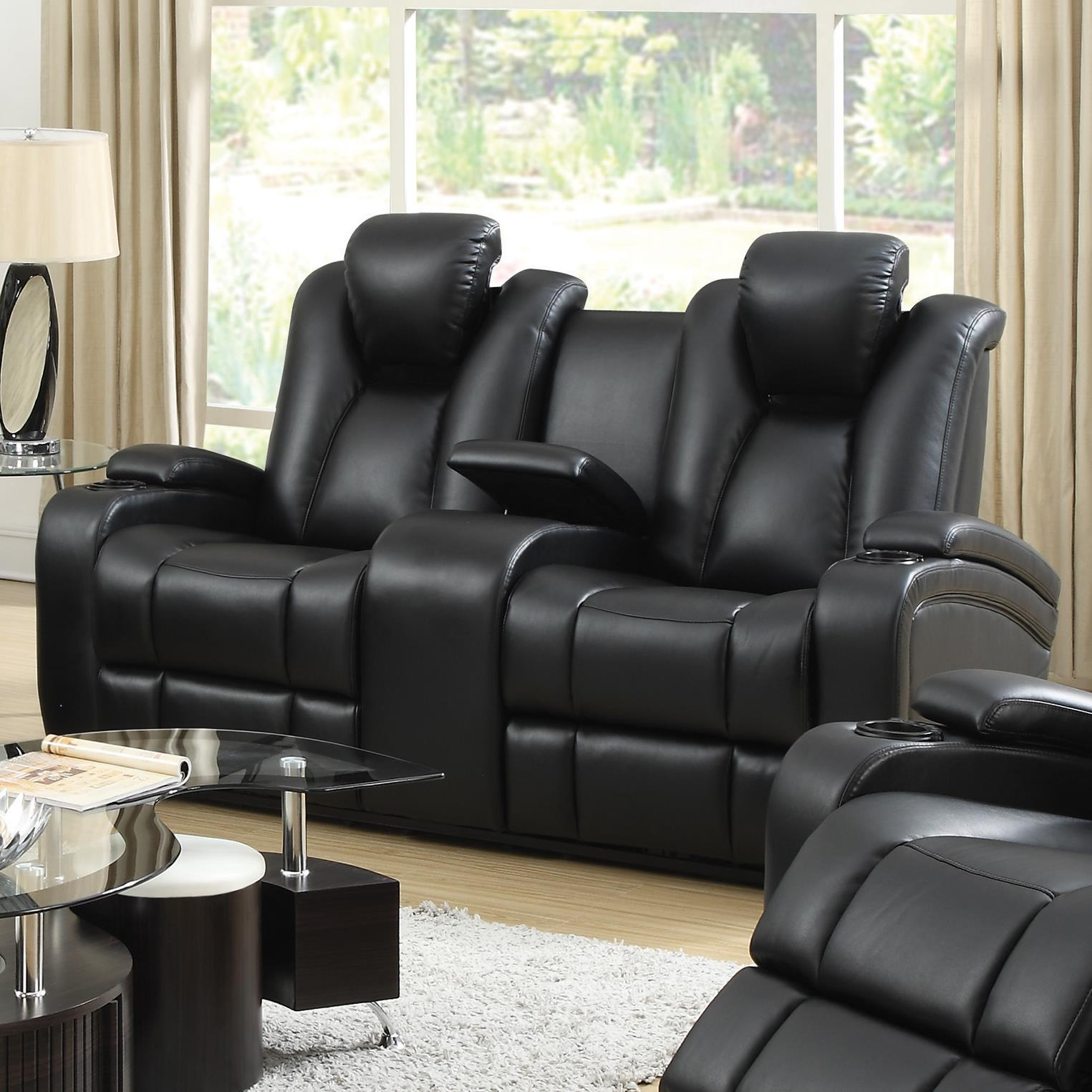Coaster Delange Power Love Seat - Item Number: 601742P