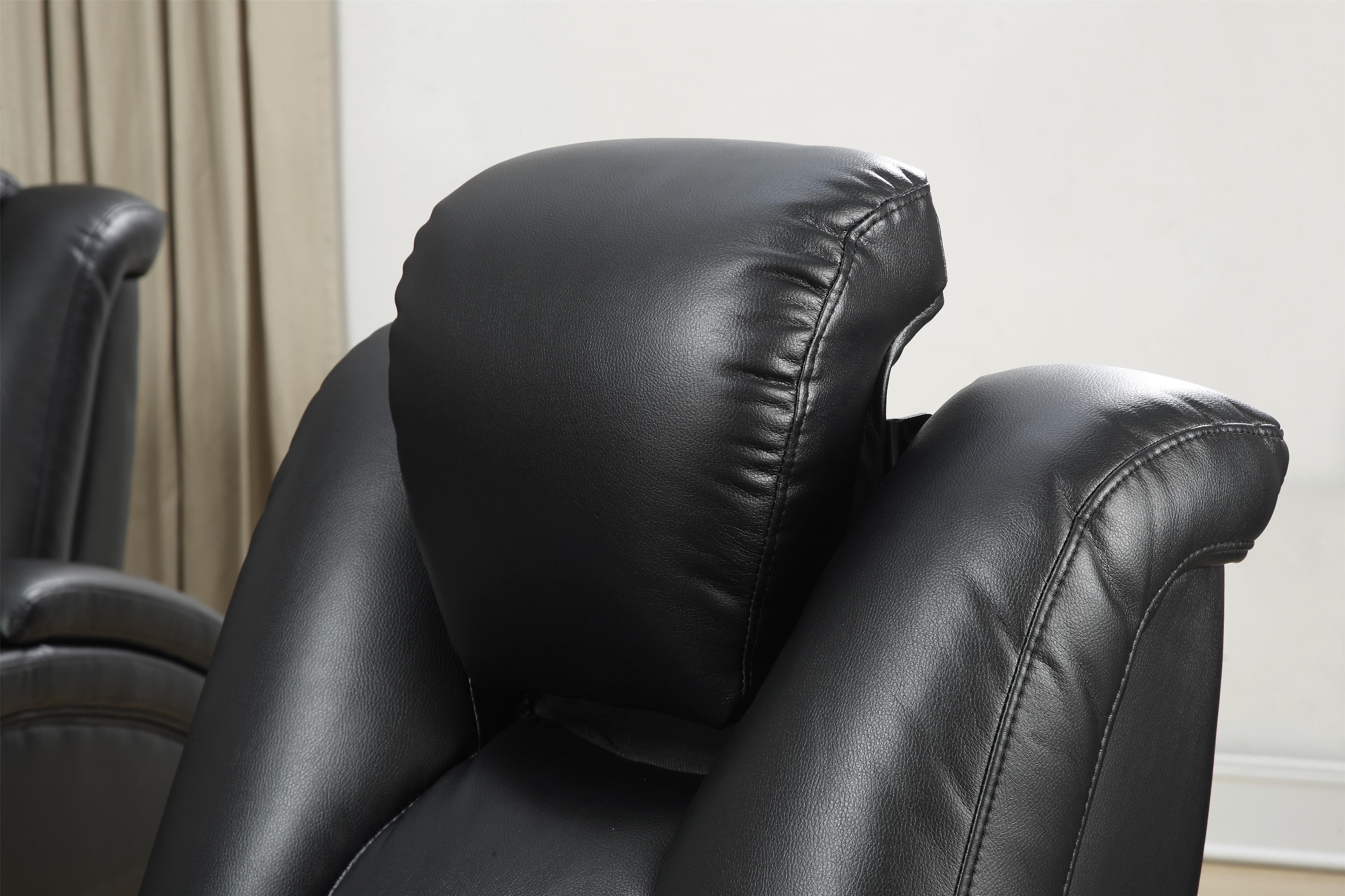 Coaster Delange Power Recliner With Adjustable Headrest