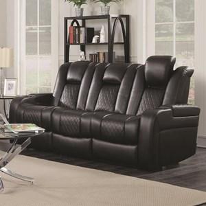 Coaster Delangelo Power Reclining Sofa
