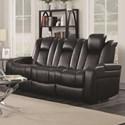 Coaster Delangelo Power Reclining Sofa - Item Number: 602301P