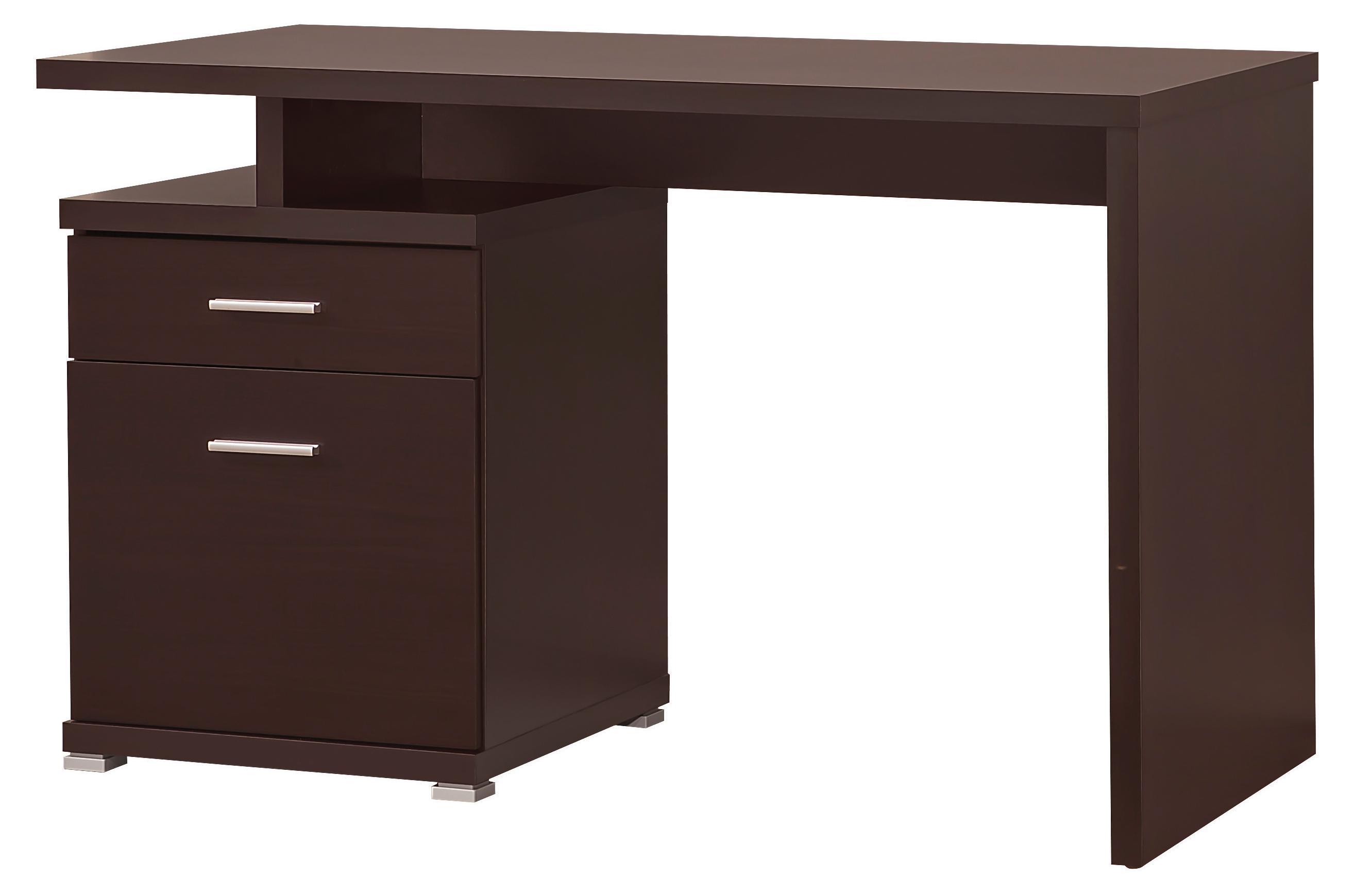 Coaster Desks Desk with Cabinet - Item Number: 800109