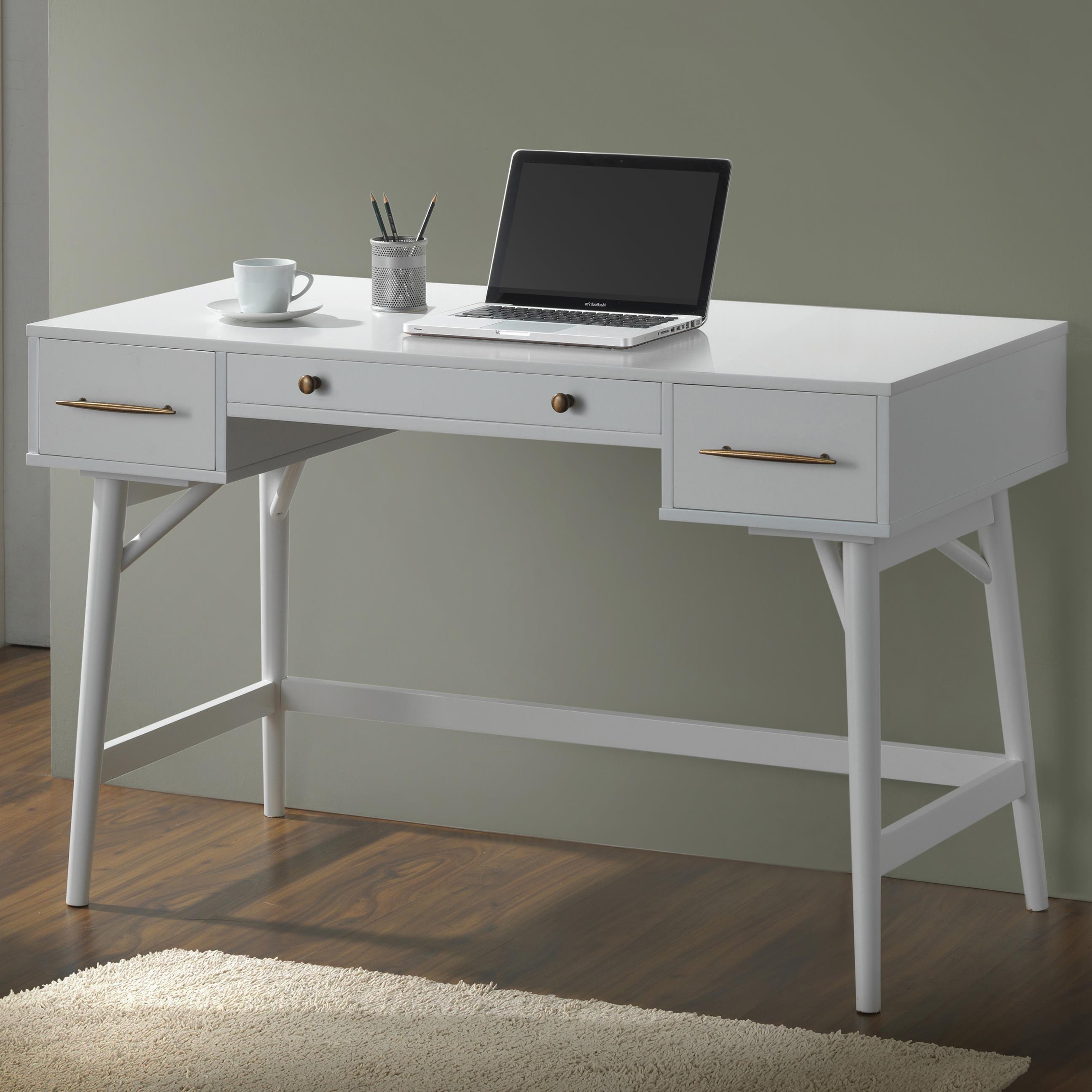 wood solid walnut base desk american gray in veneer writing cherry w furnitech