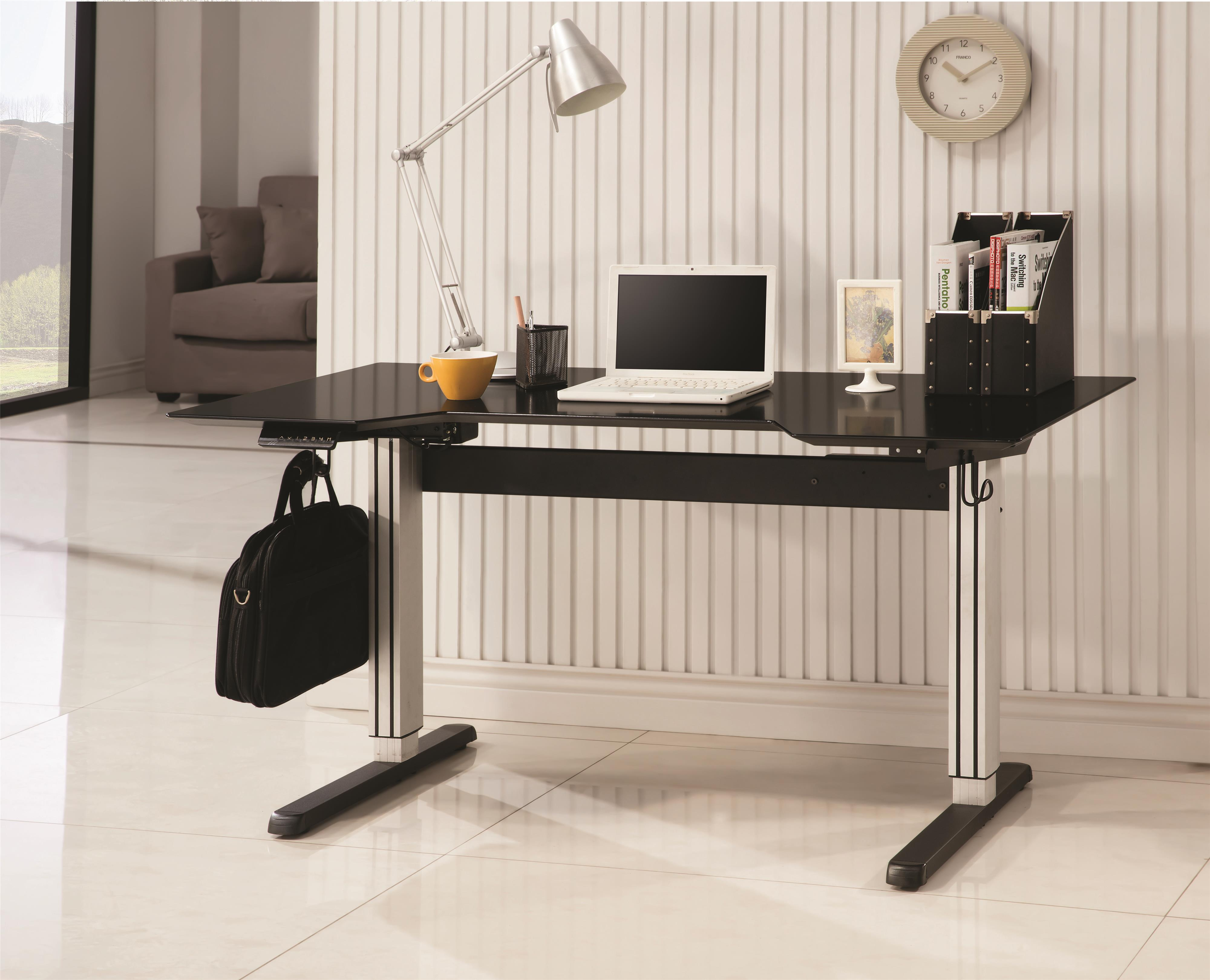 Coaster Desks Adjustable Height Desk - Item Number: 801315