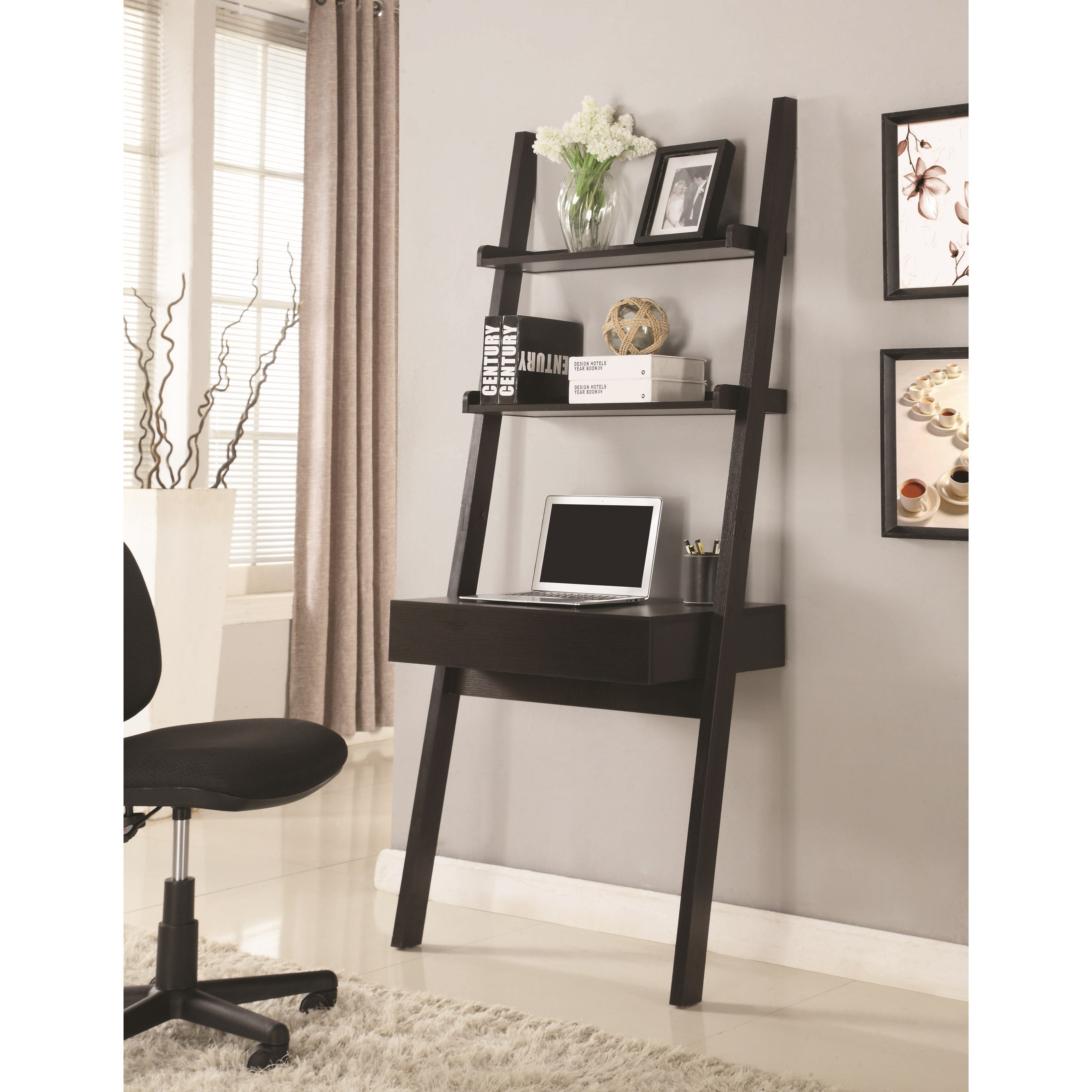 Coaster Wall Leaning Writing Ladder Desk Value City