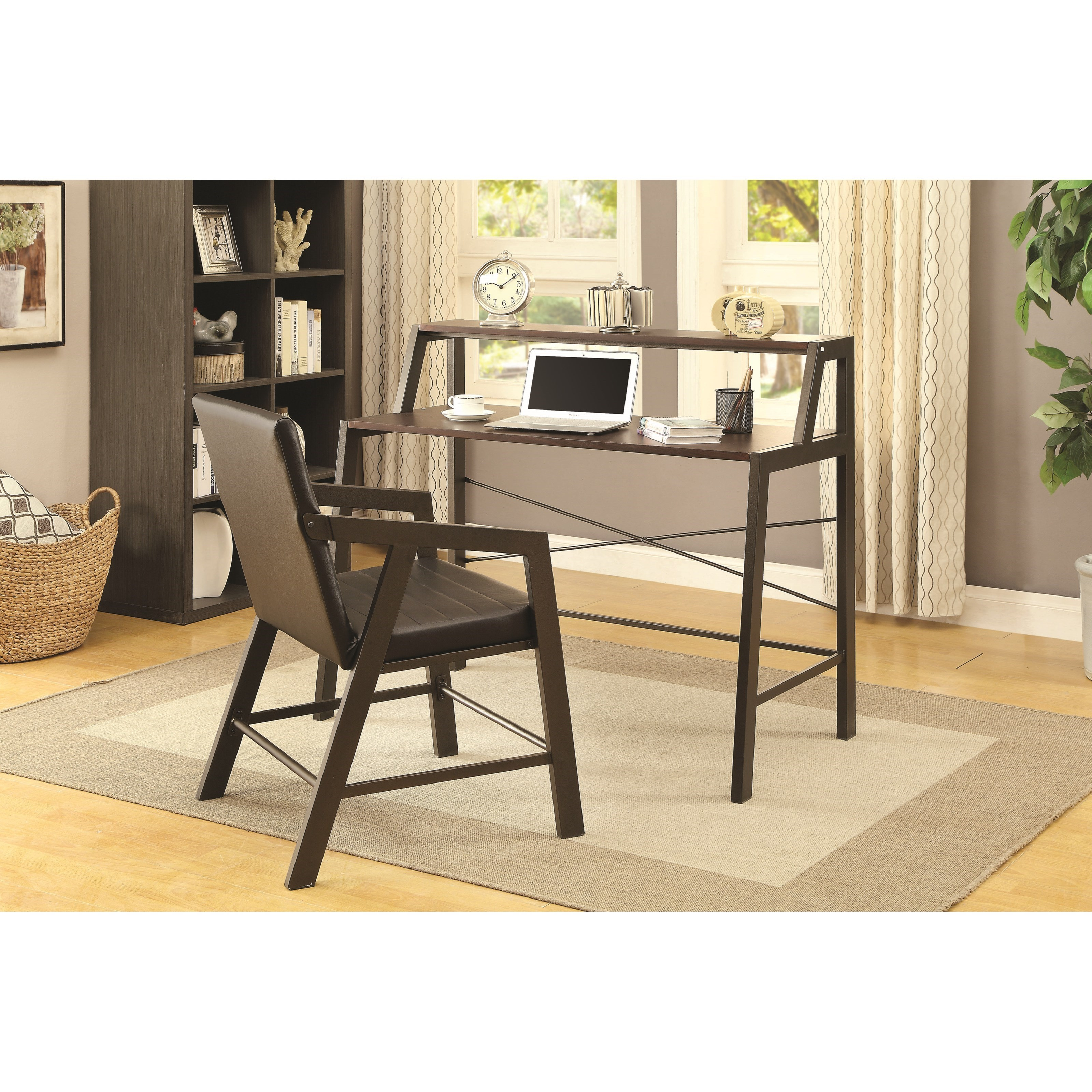 Coaster   Office Desk and Chair Set - Item Number: 801560+801561