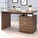 Coaster   Desk with Cabinet - Item Number: 802109