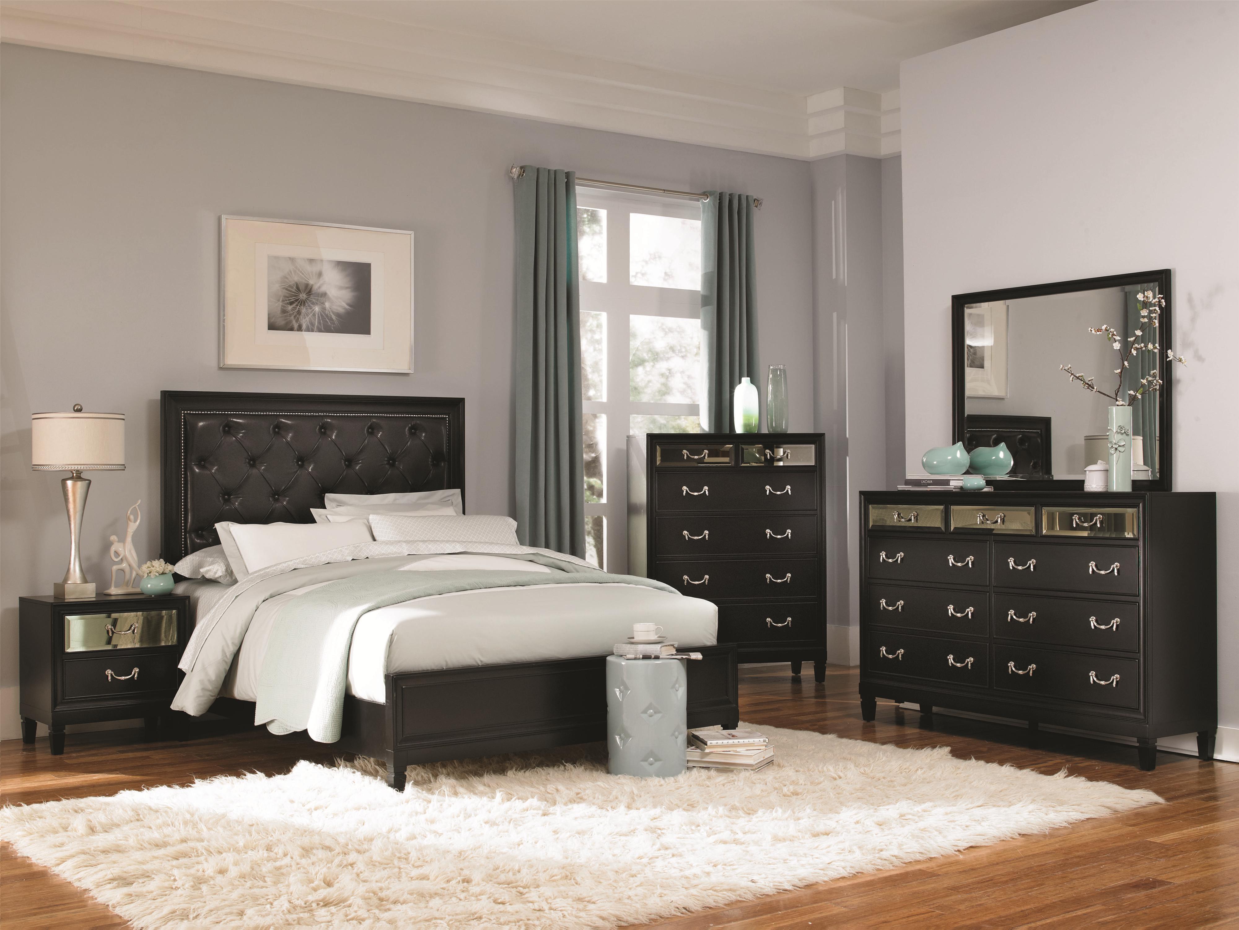 Coaster Devine Bedroom Group - Item Number: 20312 CK Bedroom Group 1