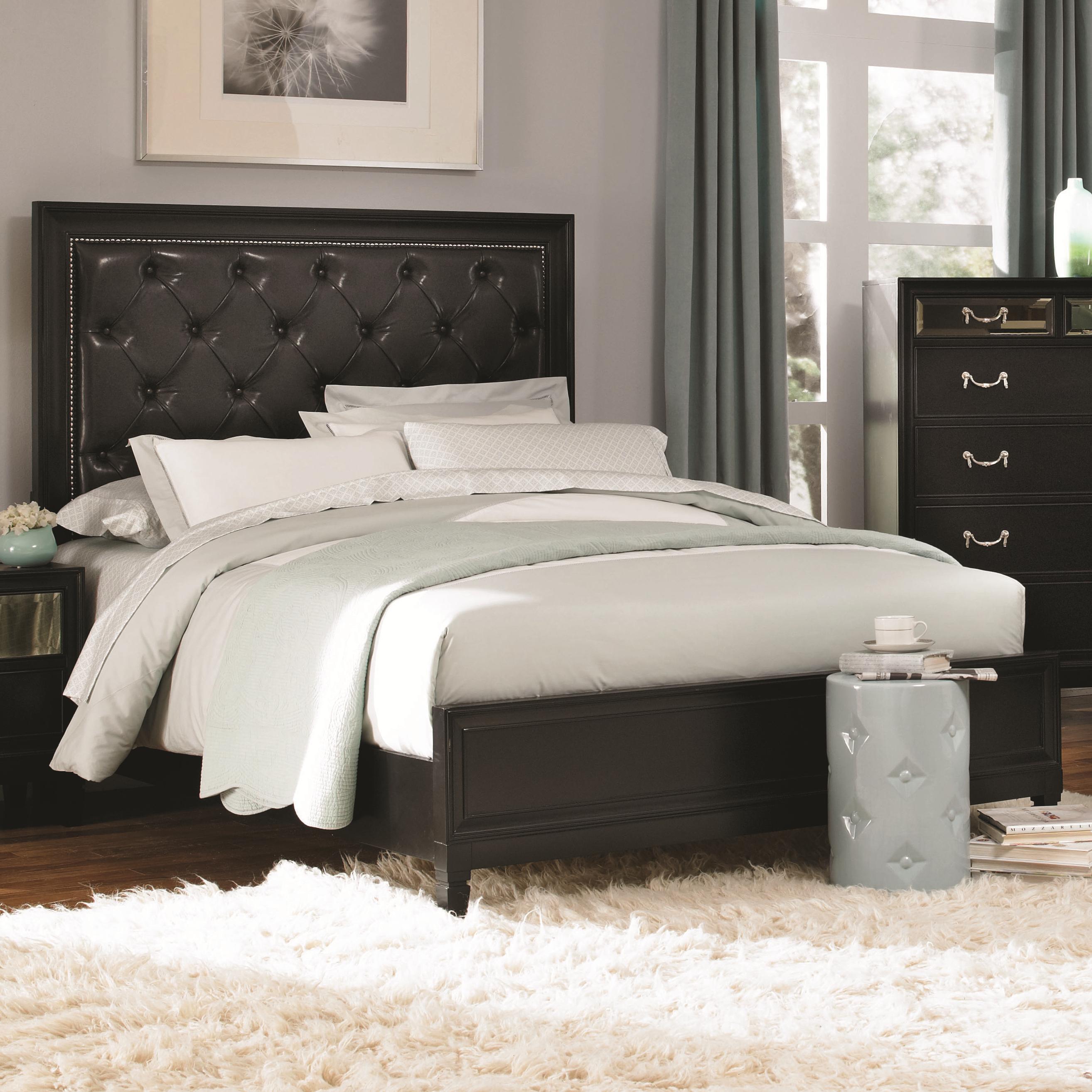 Coaster Devine King Bed - Item Number: 203121KE
