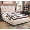 Coaster Devon Full Upholstered Bed - Item Number: 300525F