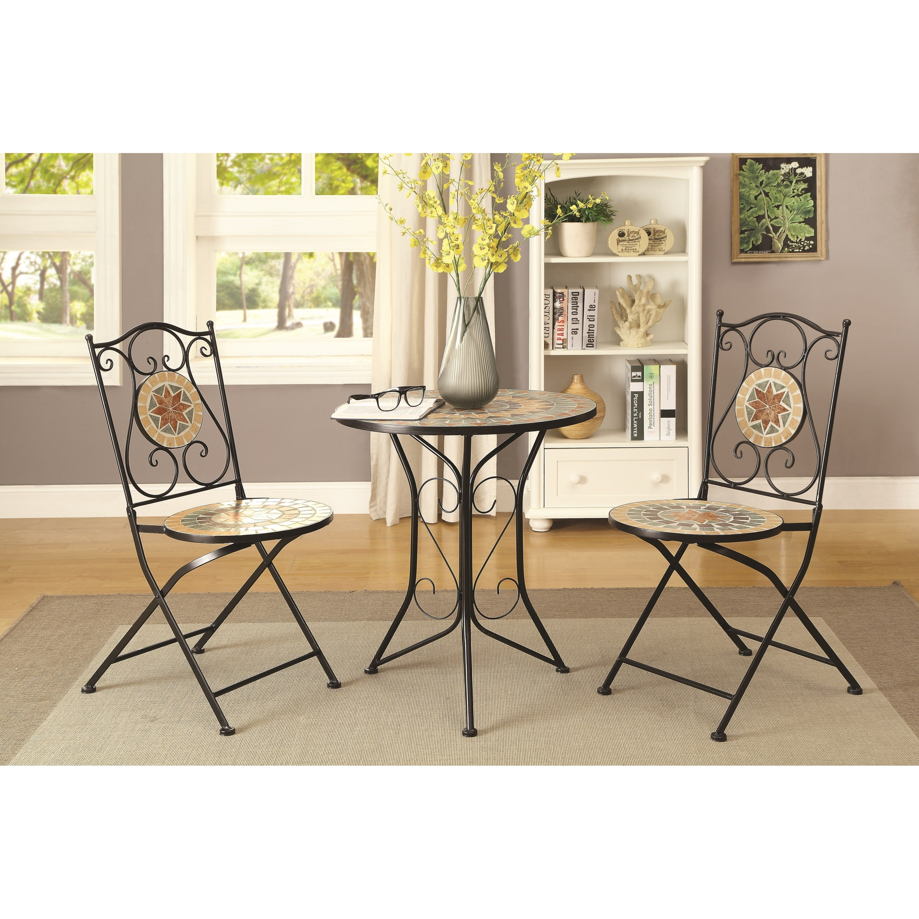 Coaster Dinettes 3 Piece Dining Set - Item Number: 104165