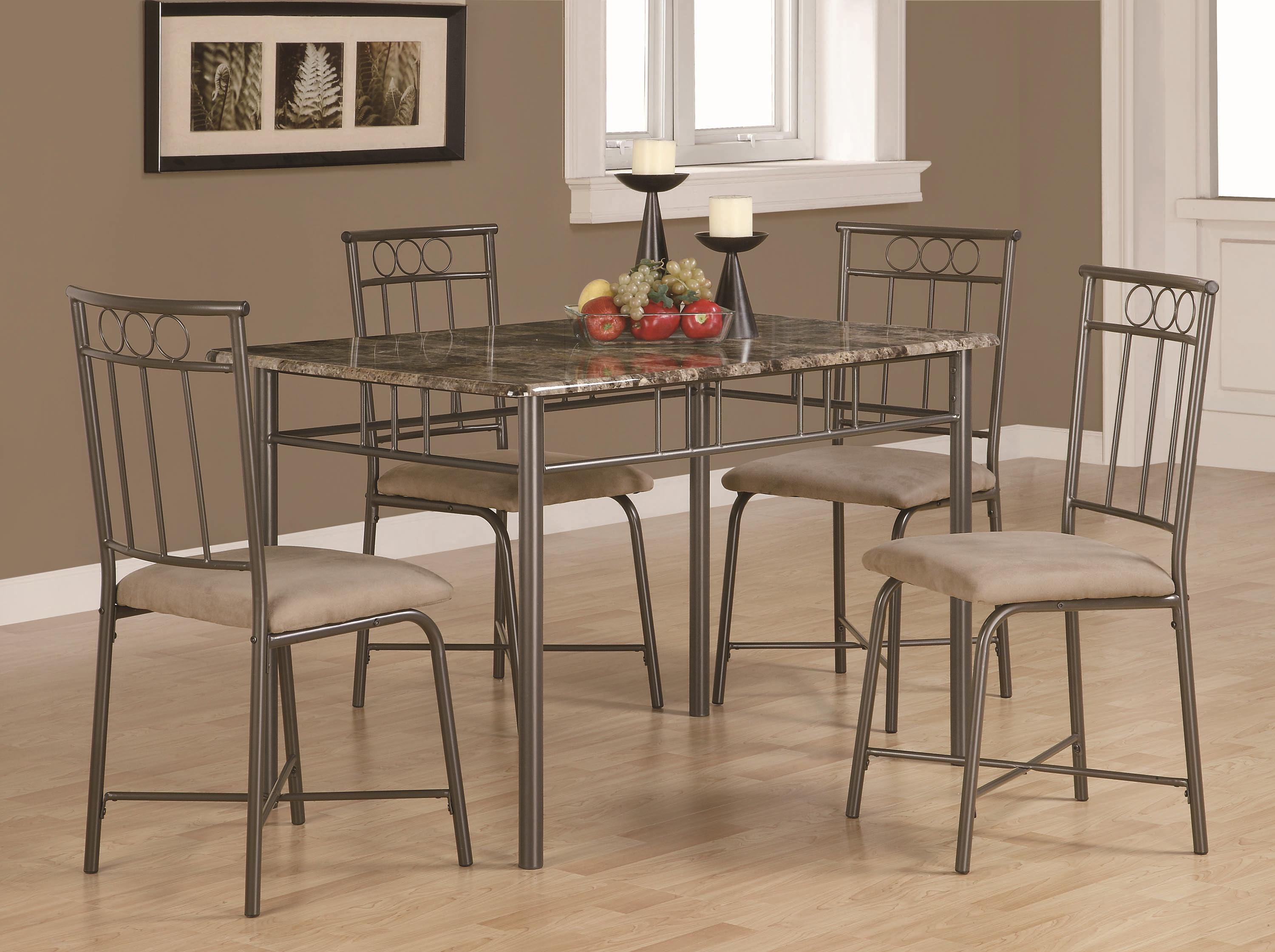 Coaster Dinettes 5 Piece Dining Set   Item Number: 150114