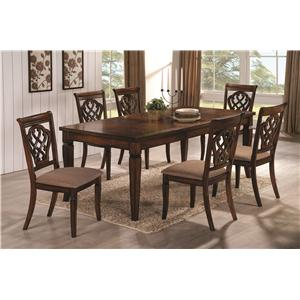 Coaster Dining 10339 Dining Table & Chair Set
