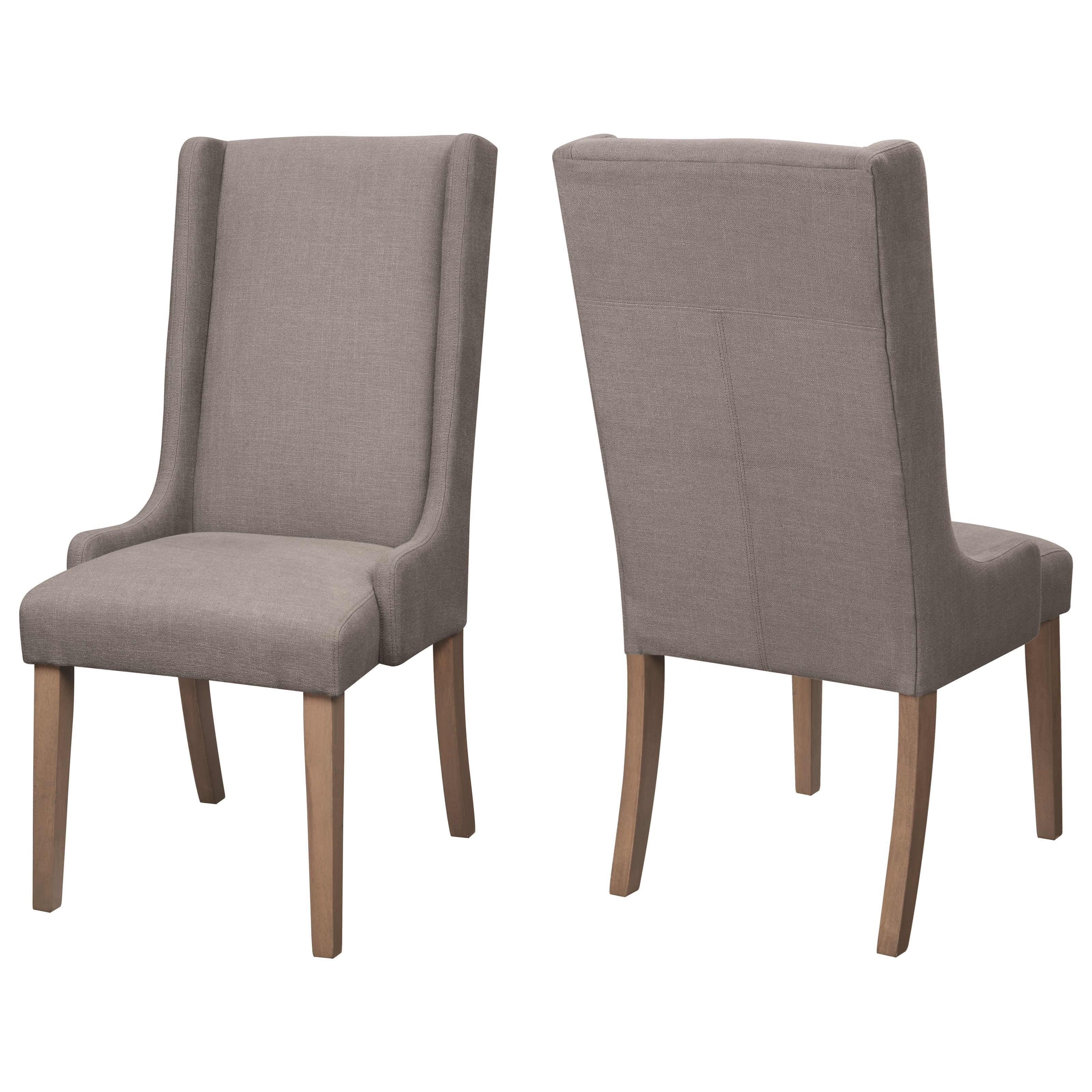 Coaster Dining Chairs And Bar Stools Upholstered Wingback
