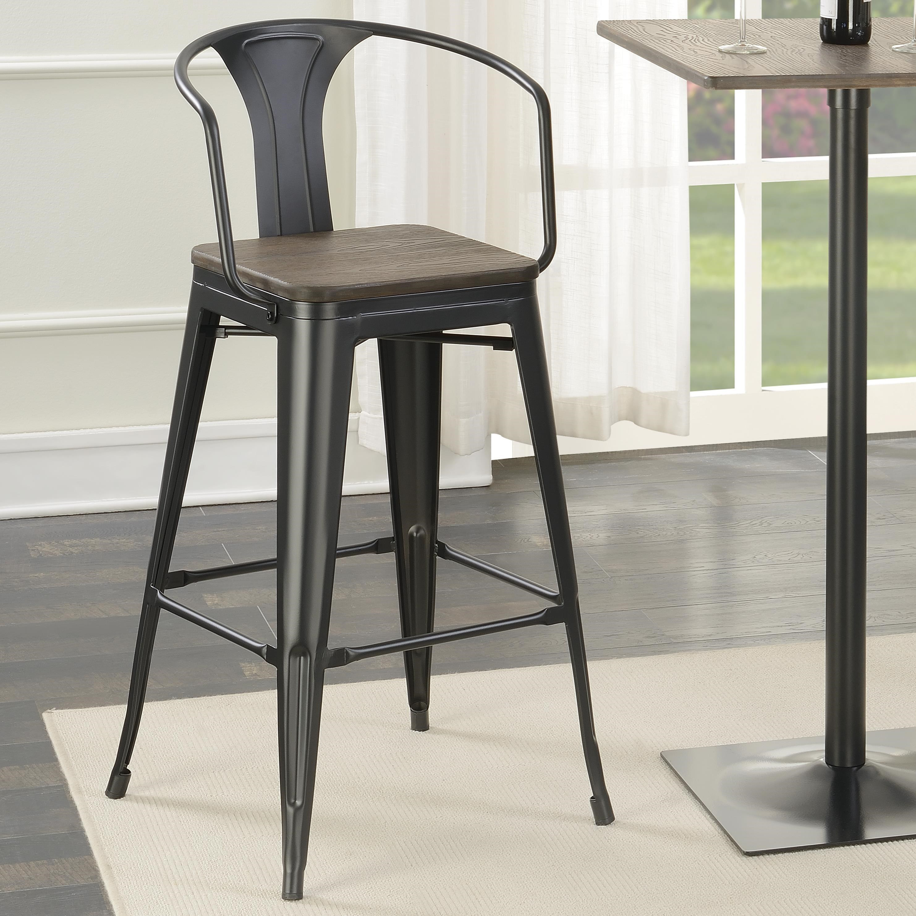 Coaster dining chairs and bar stools cafe stool