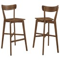 Coaster Dining Chairs and Bar Stools Mid-Century Modern Bar Stool