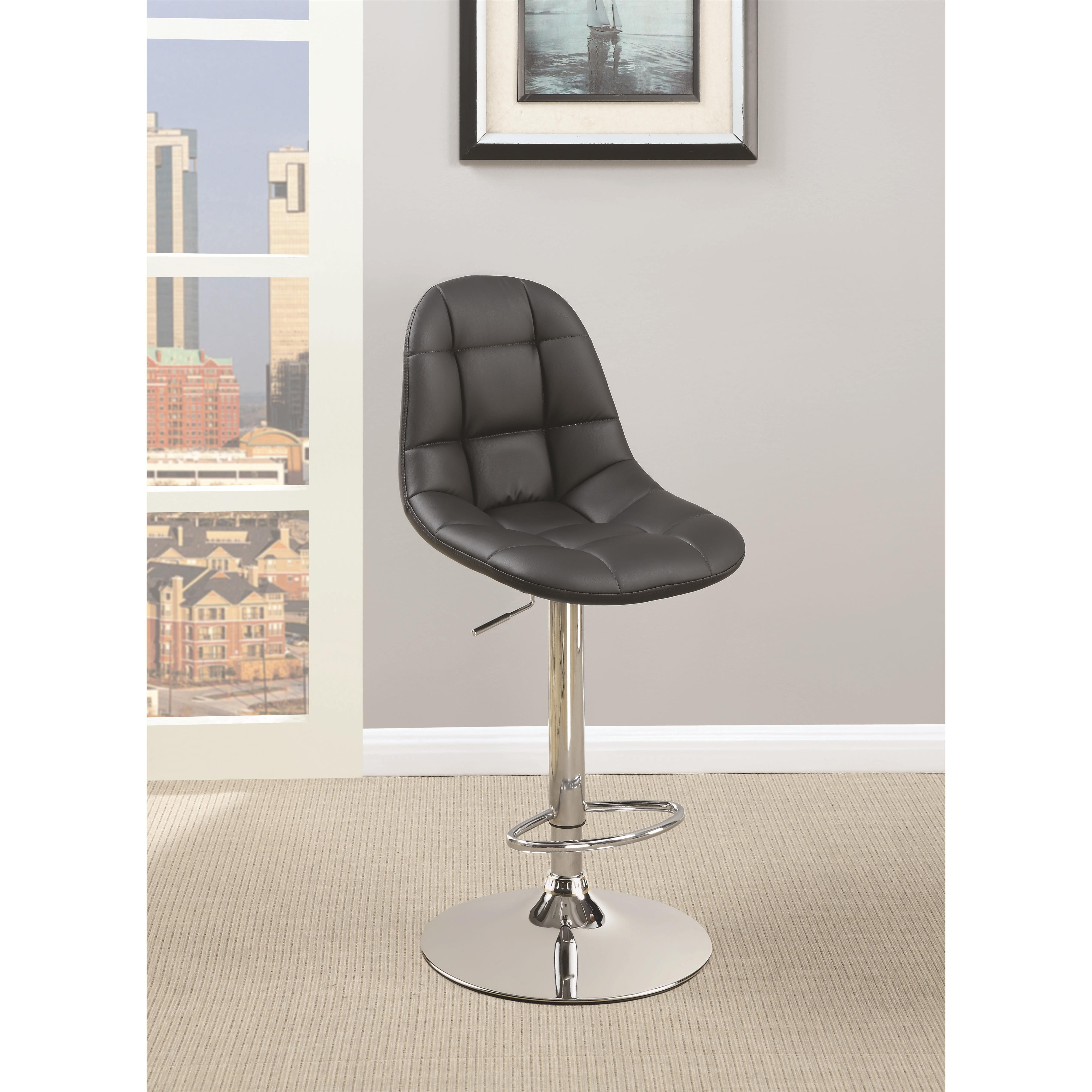 Coaster Dining Chairs and Bar Stools Adjustable Bar Stool - Item Number: 101787