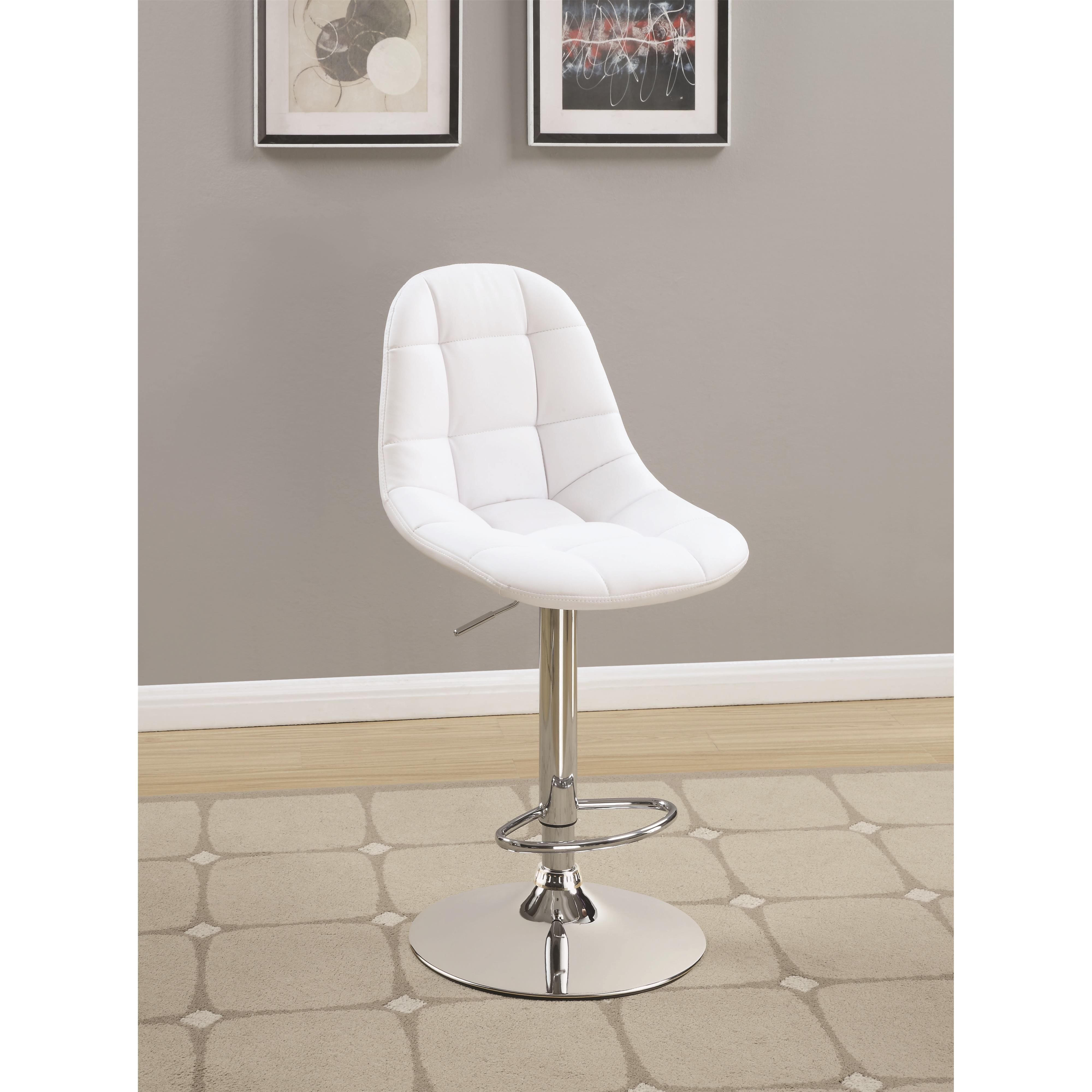 Coaster Dining Chairs and Bar Stools Adjustable Bar Stool - Item Number: 101788