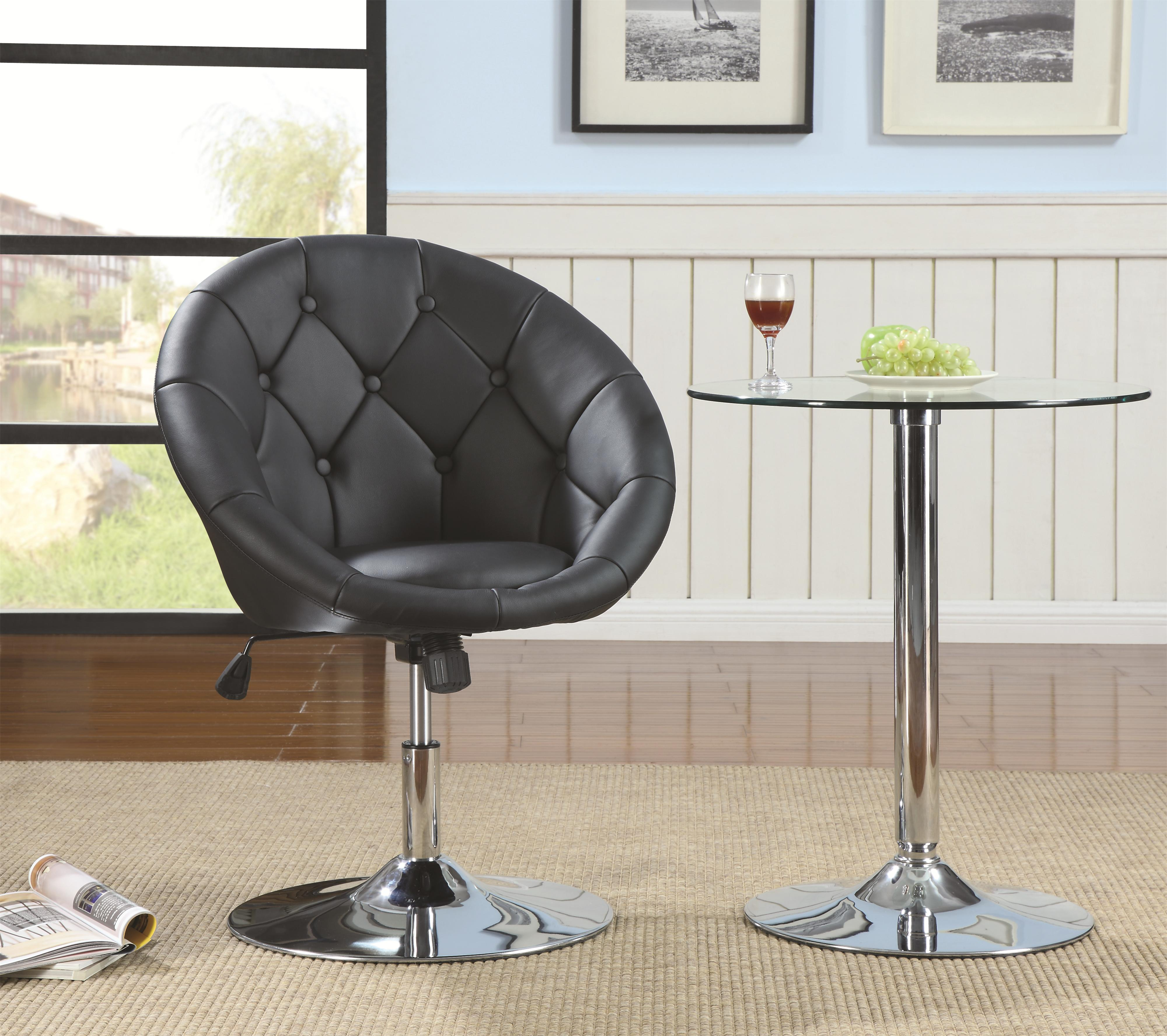 Coaster Dining Chairs And Bar Stools Contemporary Round