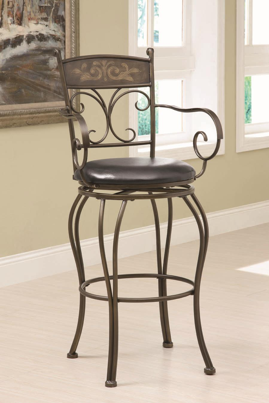 "Coaster Dining Chairs and Bar Stools 29"" Barstool - Item Number: 102585"